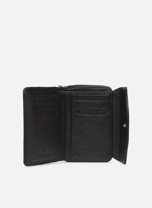 Kleine lederwaren Hexagona DUNE PORTE-MONNAIE CUIR ANTI RFID Zwart achterkant