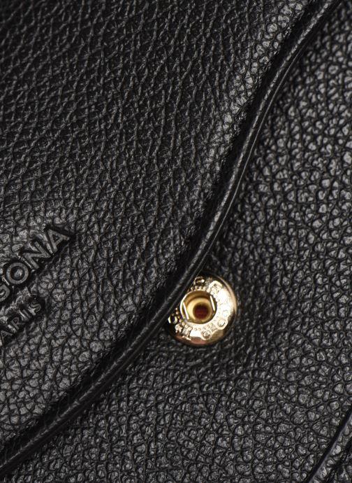 Petite Maroquinerie Hexagona DUNE PORTE-MONNAIE CUIR ANTI RFID Noir vue gauche