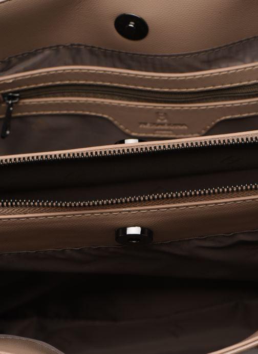 Handtaschen Hexagona IDYLLE PORTE MAIN beige ansicht von hinten