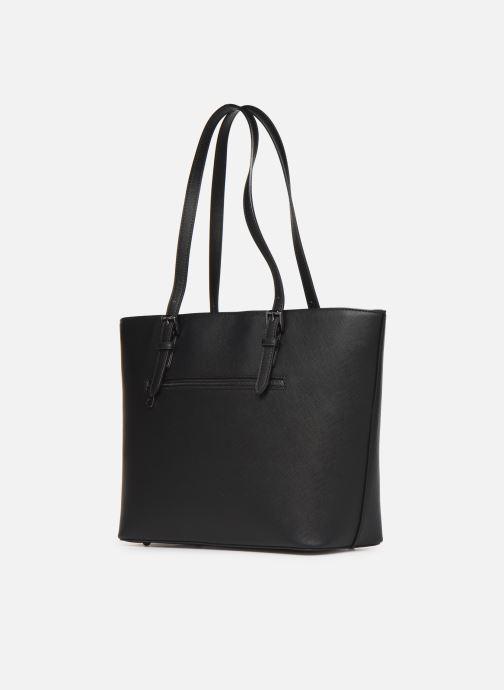 Handtaschen Hexagona SYNSA SHOPPING schwarz ansicht von rechts