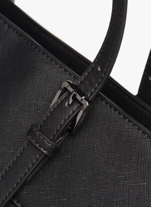 Handtaschen Hexagona SYNSA SHOPPING schwarz ansicht von links
