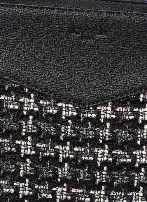 Bolsos de mano Hexagona ABERDEEN PORTE EPAULE Negro vista lateral izquierda