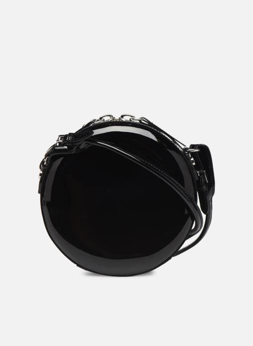 Sacs à main Vivienne Westwood Round Crossbody Bag Noir vue face