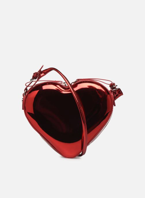 Handtassen Vivienne Westwood Heart Crossbody Bag Rood voorkant
