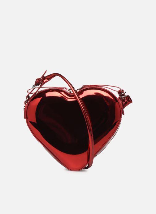 Sacs à main Vivienne Westwood Heart Crossbody Bag Rouge vue face