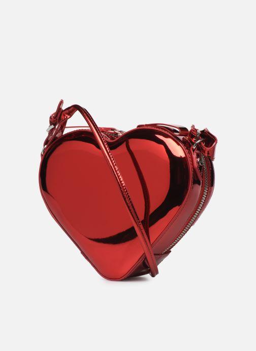 Handtassen Vivienne Westwood Heart Crossbody Bag Rood rechts