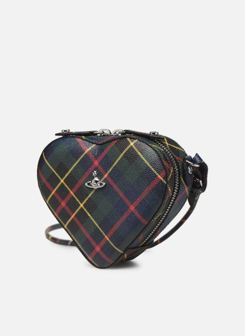 Sacs à main Vivienne Westwood Heart Crossbody Bag Multicolore vue portées chaussures