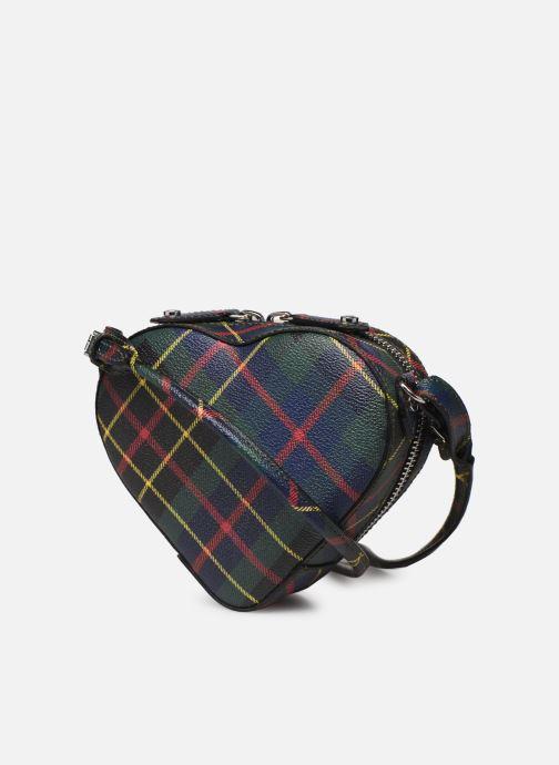 Sacs à main Vivienne Westwood Heart Crossbody Bag Multicolore vue droite