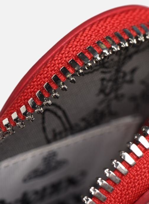 Petite Maroquinerie Vivienne Westwood Heart Coin Case Rouge vue derrière