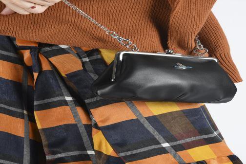 Sacs à main Vivienne Westwood Frame Purse Noir vue bas / vue portée sac