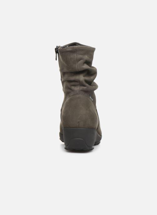 Bottines et boots Mephisto Agatha C Bleu vue droite