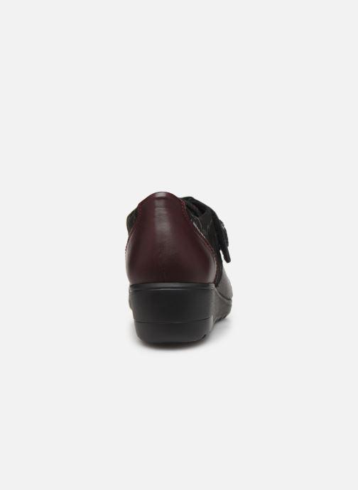 Sneakers Mephisto Branda C Bordeaux rechts