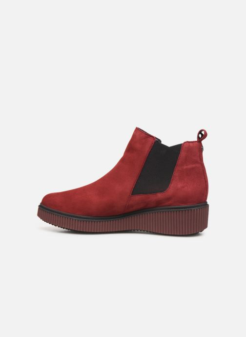 Ankle boots Mephisto Emie C Burgundy front view