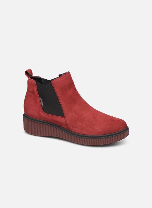 Ankelstøvler Mephisto Emie C Bordeaux detaljeret billede af skoene