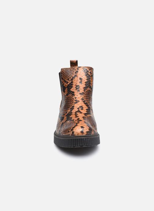 Bottines et boots Mephisto Emie C Marron vue portées chaussures