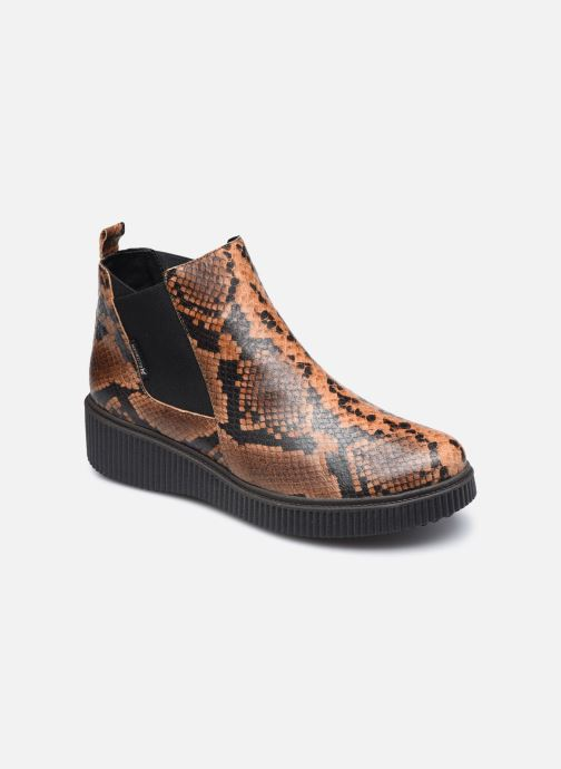 Bottines et boots Mephisto Emie C Marron vue détail/paire