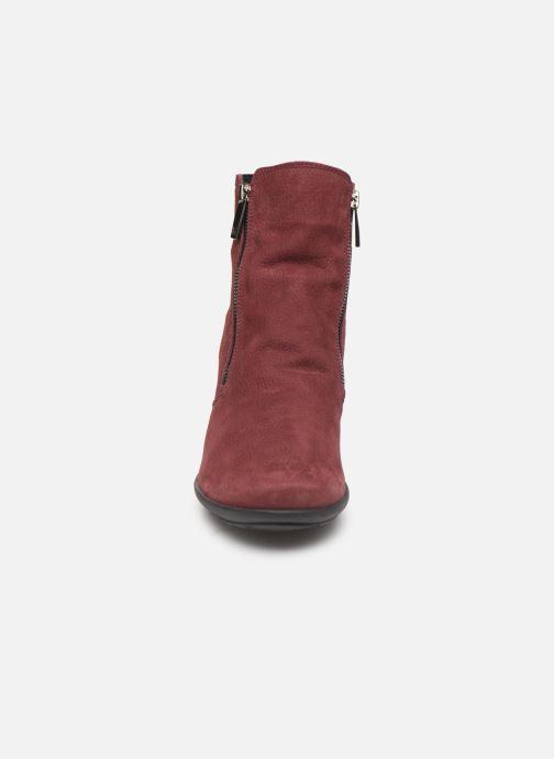 Bottines et boots Mephisto Nessia C Bordeaux vue portées chaussures