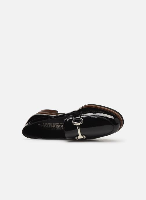 Loafers Mephisto Roxana C Black view from the left