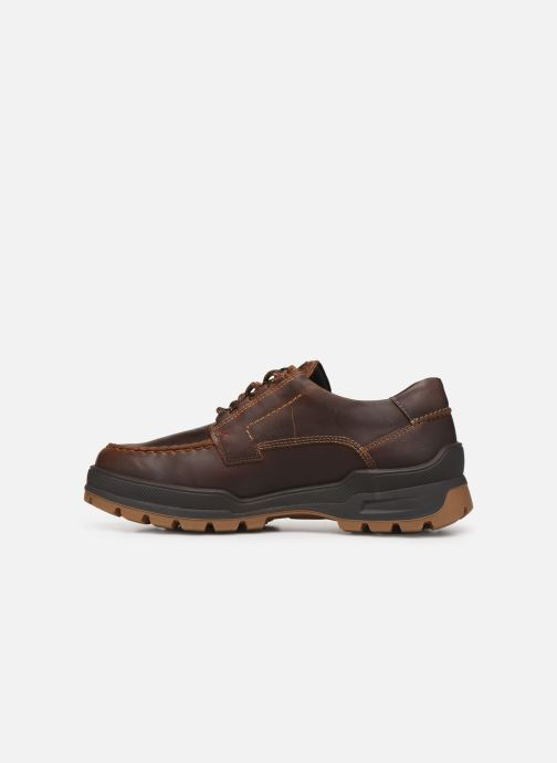 Chaussures à lacets Mephisto Isak Gt C Marron vue face