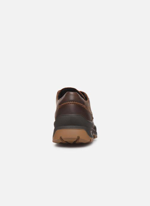 Chaussures à lacets Mephisto Isak Gt C Marron vue droite