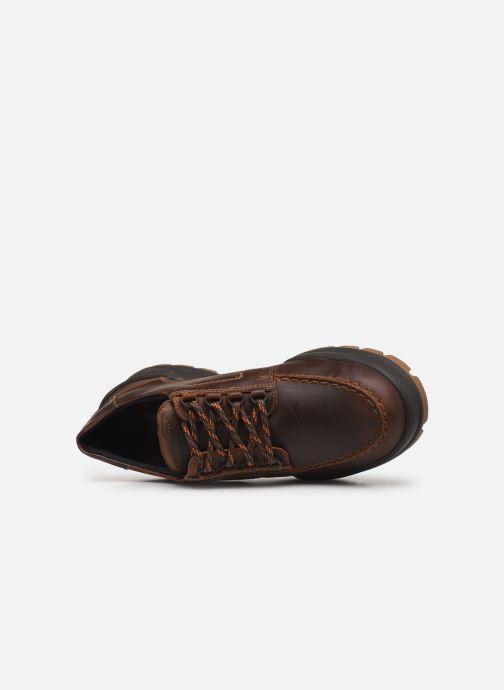 Chaussures à lacets Mephisto Isak Gt C Marron vue gauche