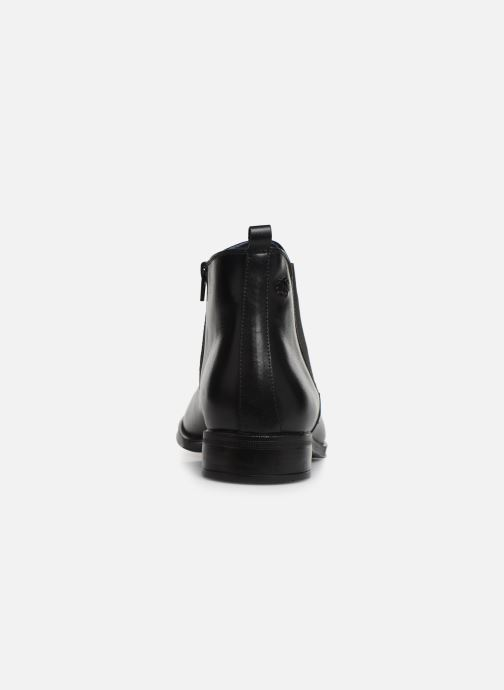 Botines  Fluchos Heracles 8756 Negro vista lateral derecha