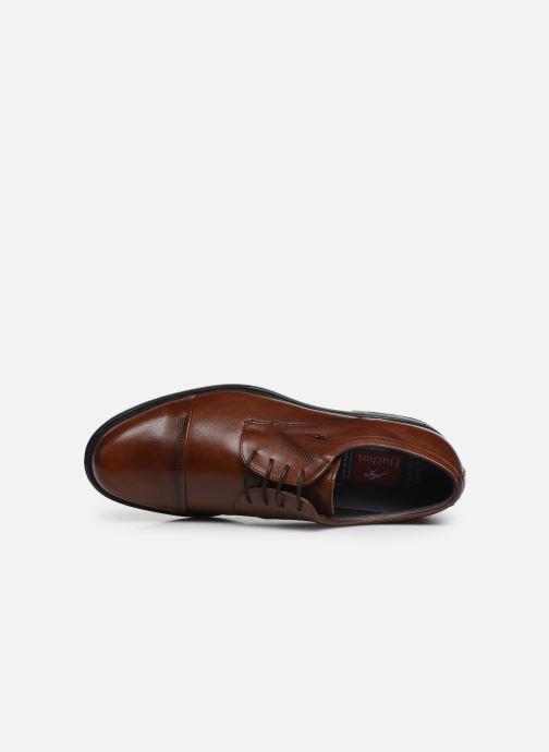 Chaussures à lacets Fluchos Simon 8468 Marron vue gauche