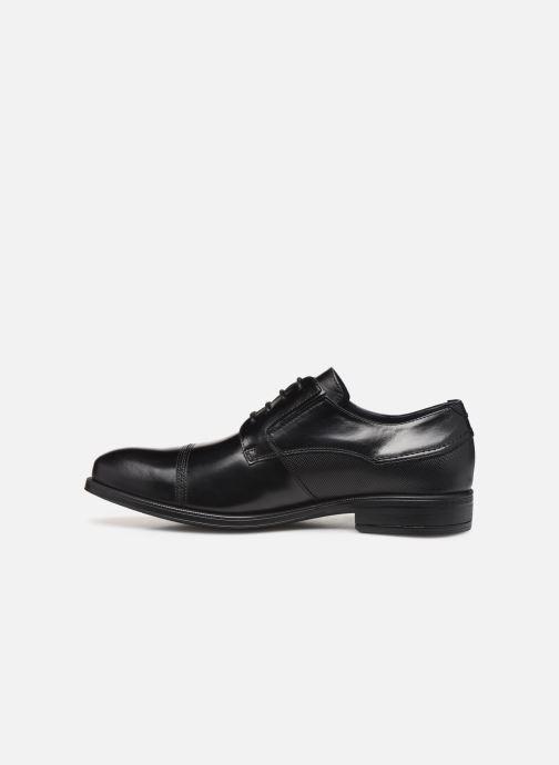 Lace-up shoes Fluchos Beta 0676 Black front view