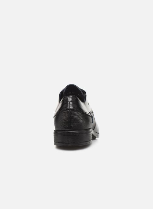Lace-up shoes Fluchos Beta 0676 Black view from the right
