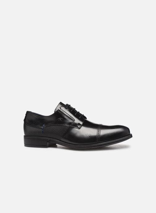 Lace-up shoes Fluchos Beta 0676 Black back view