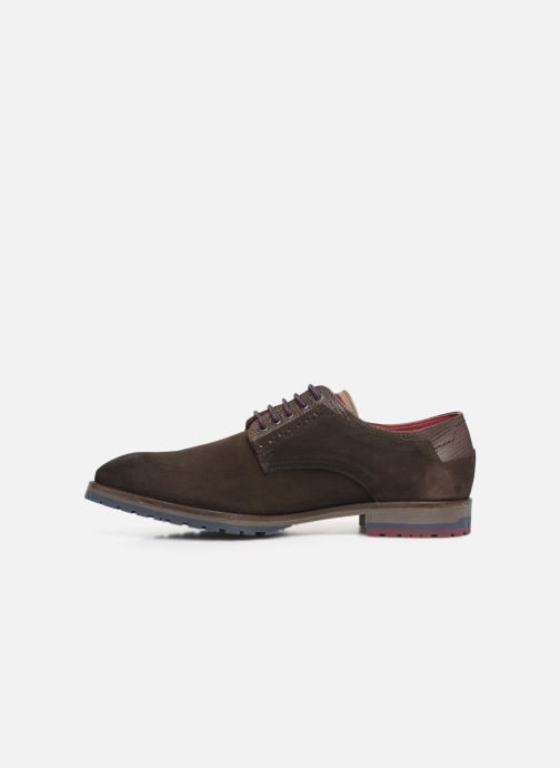 Zapatos con cordones Fluchos Ciclope 0273 Marrón vista de frente