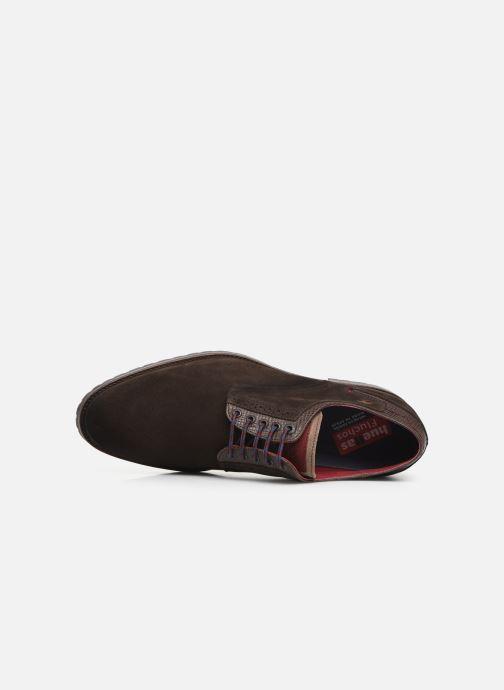 Zapatos con cordones Fluchos Ciclope 0273 Marrón vista lateral izquierda