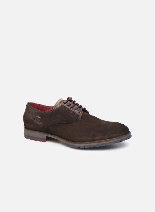 Zapatos con cordones Fluchos Ciclope 0273 Marrón vista de detalle / par