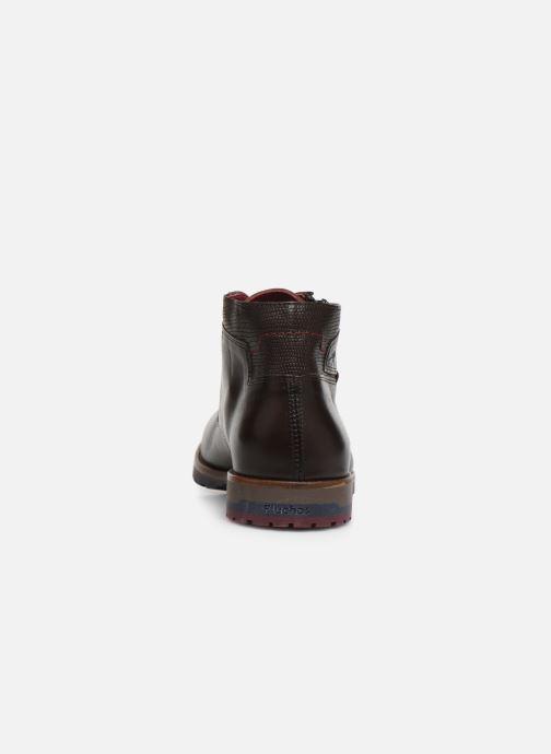 Bottines et boots Fluchos Ciclope 0568 Marron vue droite