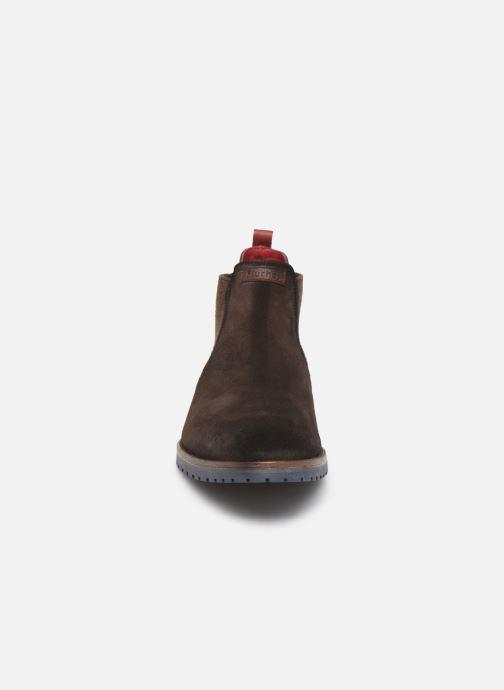 Bottines et boots Fluchos Ciclope 0278 Marron vue portées chaussures