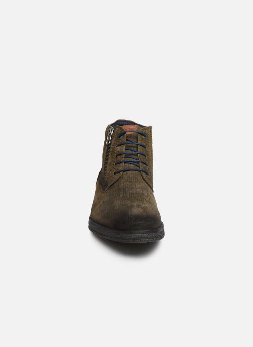 Bottines et boots Fluchos Gamma 0652 Vert vue portées chaussures