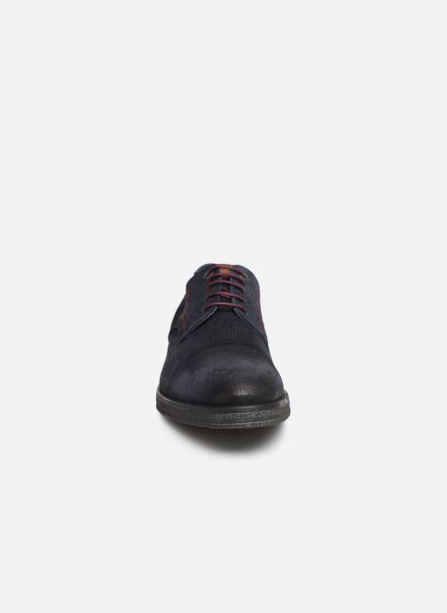 Chaussures à lacets Fluchos Gamma 0654 Bleu vue portées chaussures