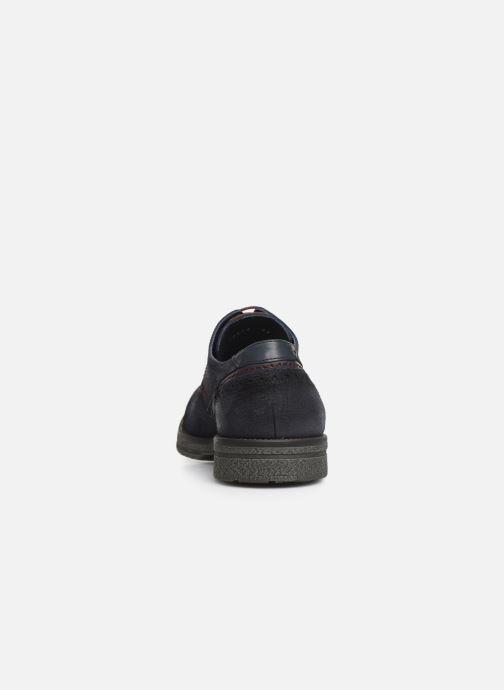Chaussures à lacets Fluchos Gamma 0654 Bleu vue droite
