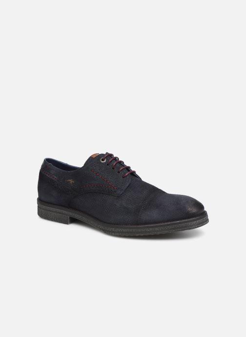 Chaussures à lacets Fluchos Gamma 0654 Bleu vue détail/paire