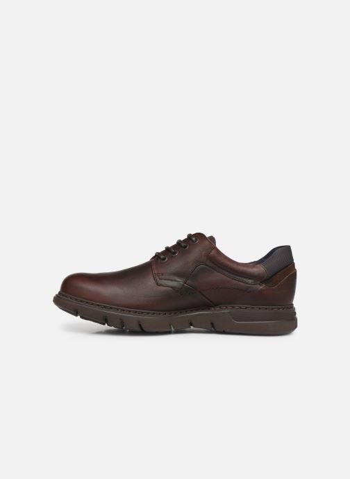 Zapatos con cordones Fluchos Celtic 0247 Marrón vista de frente