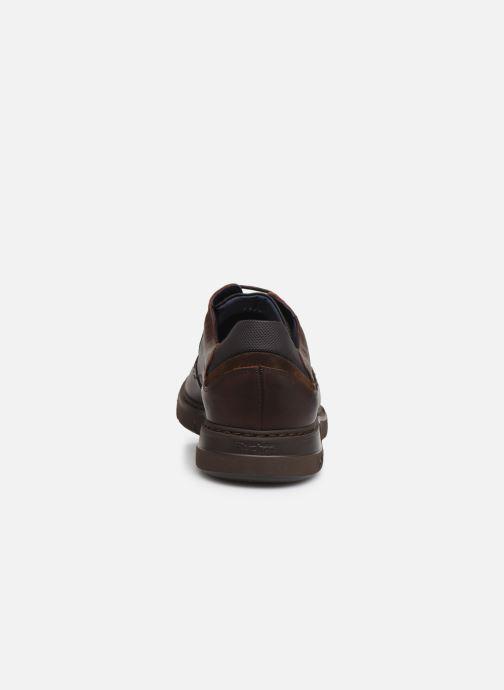 Zapatos con cordones Fluchos Celtic 0247 Marrón vista lateral derecha