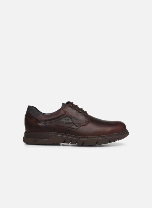 Zapatos con cordones Fluchos Celtic 0247 Marrón vistra trasera