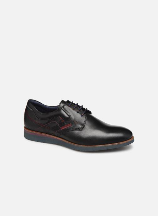 Chaussures à lacets Fluchos Ranger 0663 Noir vue détail/paire