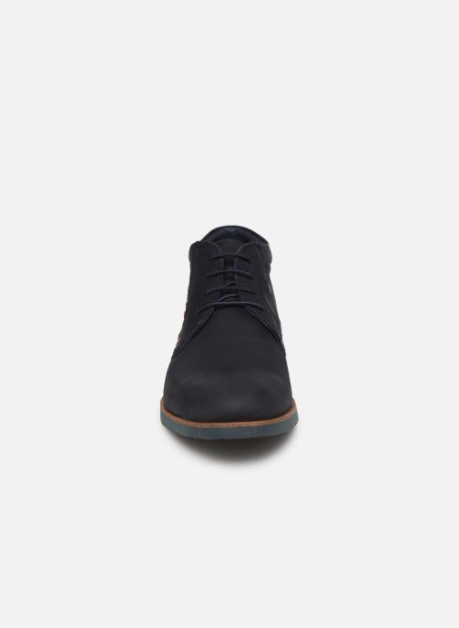 Bottines et boots Fluchos Ranger 0665 Bleu vue portées chaussures