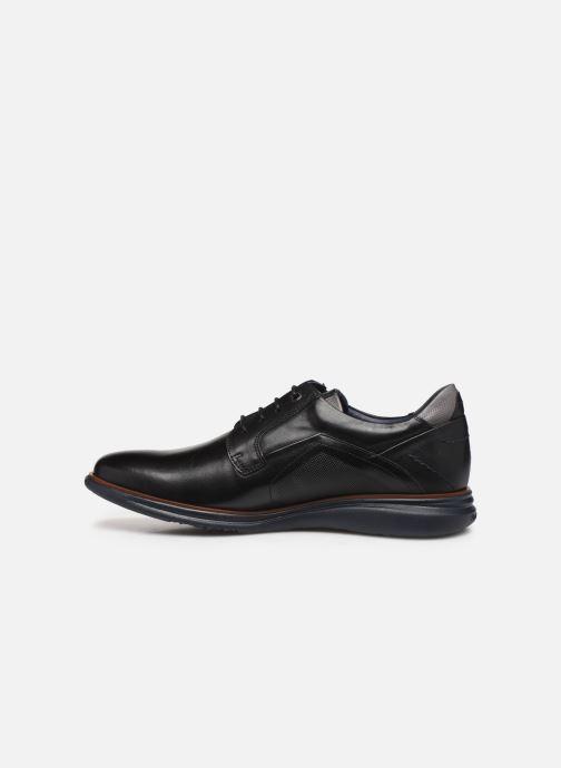 Lace-up shoes Fluchos Fenix 0235 Black front view