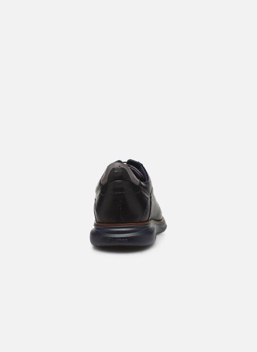 Chaussures à lacets Fluchos Fenix 0235 Noir vue droite