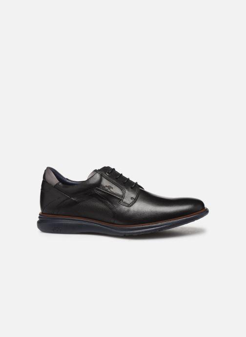 Lace-up shoes Fluchos Fenix 0235 Black back view