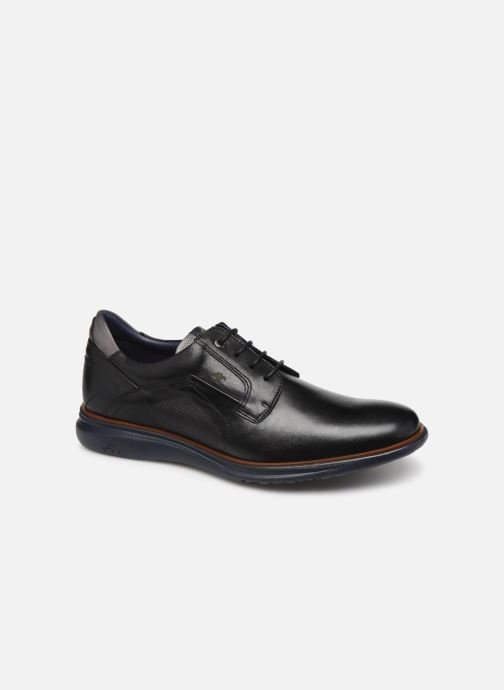 Lace-up shoes Fluchos Fenix 0235 Black detailed view/ Pair view