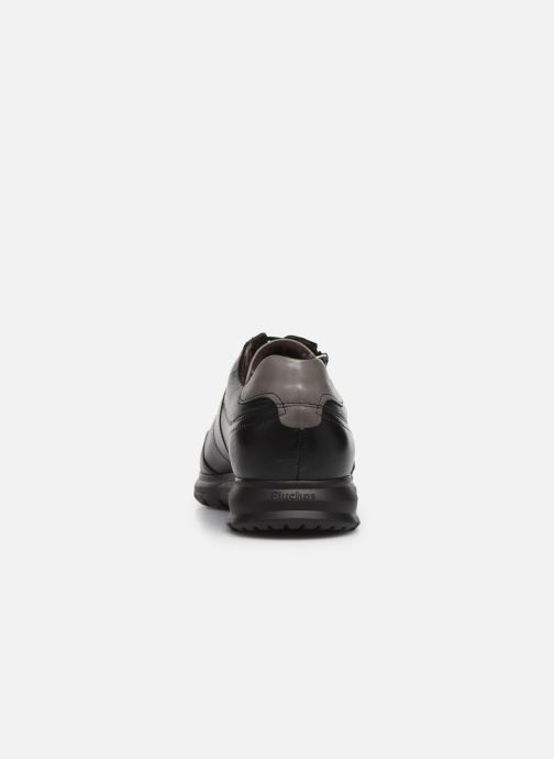 Sneakers Fluchos Zeta 0606 Sort Se fra højre