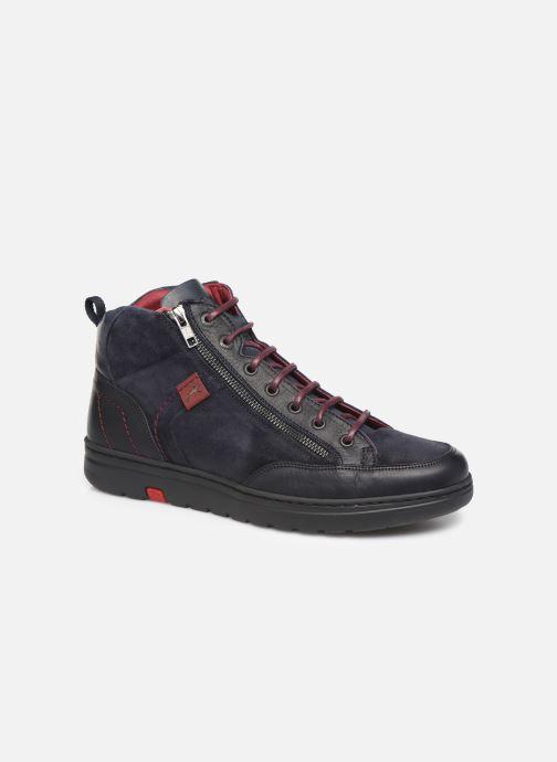 Sneakers Fluchos Atlas 0293 Blå detaljeret billede af skoene
